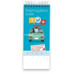 Interrogation orale au permis B - Vérifications techniques intérieures et extérieures, 1er secours et sécurité routière