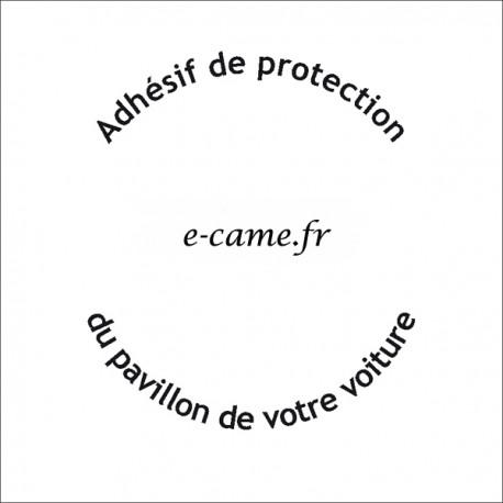 Autoadhésif transparent de protection pour carrosserie